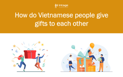 How do Vietnamese people give gifts to each other?